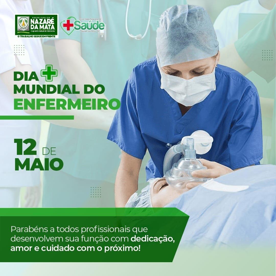 12 DE MAIO DIA MUNDIAL DO ENFERMEIRO