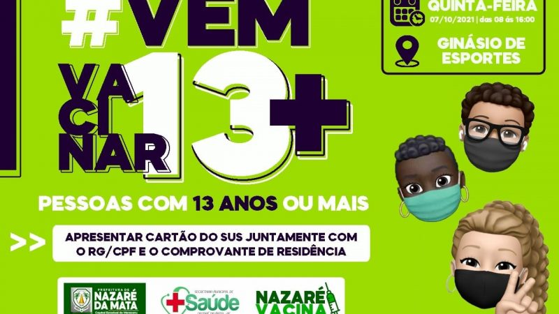 CHEGOU A HORA DA TURMINHA DOS 13+