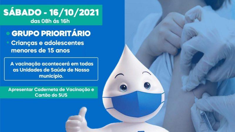 Neste sábado é Dia D da campanha de multivacinação. 💉